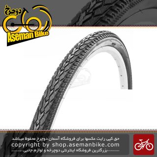 تایر لاستیک دوچرخه شهری توریستی ترکینگ چاویانگ سایز 28 در 1 5/8 در 1 1/2 ( 700 در 38 سی) کد اچ 5113 Tire Bicycle ChaoYang TREKKING Bike ZC Rubber 28×1 5/8×1 1/2 700×38C H-5113