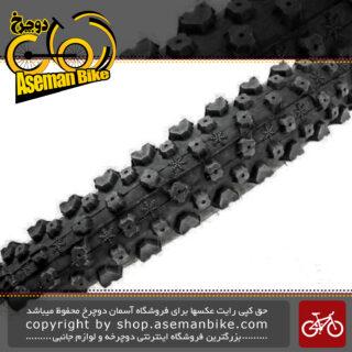 تایر لاستیک دوچرخه کوهستان چاویانگ سایز 26 در 2.35 کد اچ 540 Tire Bicycle ChaoYang MTB Bike ZC Rubber 26×2.35 H-540
