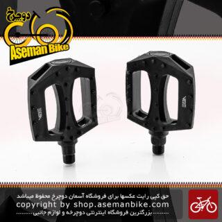 پدال دوچرخه وایب مدل 650 جی 1 مشکی VIBE Pedals Model 650G1 Black