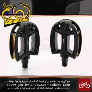 پدال دوچرخه وایب مدل 650 جی 2 مشکی VIBE Pedals Model 650G2 Black