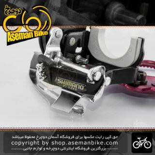 طبق عوض کن دوچرخه شیمانو دایرکت مانت مدل سی 101 ساخت سنگاپور Shimano Bicycle Front Derailleur C101 Direct Mount Singapore