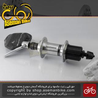 توپی چرخ عقب دوچرخه شیمانو مدل اف اچ-آر ام 30 نقره ای 18 سوراخ Shimano Bicycle Rear Hub FH-RM30 Silver 18H