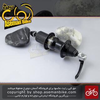 توپی چرخ عقب دوچرخه شیمانو سری سایلنت کلاچ مدل آر 080 ساخت ژاپن 18 سوراخ Shimano Bicycle Rear Hub Silent Clutch R080 Japan 18H