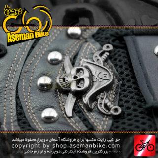 دستکش دوچرخه سواری ورزشی تیلت نیم پنجه مدل کاراییب مشکی Tilt Bicycle Sport Glove Half Caribbean Black
