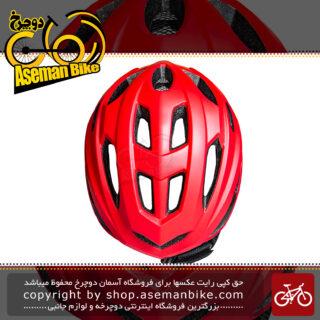 کلاه ایمنی دوچرخه کوهستان لیمار مدل 797 سایز لارج 58 تا 62 سانت سوپر سبک وزن چراغ خطر 0.3 وات رنگ قرمز مات طراحی ایتالیا Limar MTB Bicycle Helmet 797 L 57-62cm Matt Red Italy