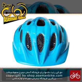 کلاه ایمنی دوچرخه برند لیمار مدل 505 سایز مدیوم 52 تا 57 سانت رنگ آبی طراحی ایتالیا Limar Bicycle Helmet 505 M 52-57cm Blue Italy