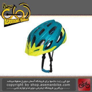 کلاه ایمنی دوچرخه کوهستان لیمار مدل 767 سوپر سبک وزن سایز مدیوم 57-52 سانت طراحی ایتالیا رنگ لیمویی ارغوانی مات LIMAR MTB Bicycle Safe Helmet Superlight 767 M 52-57cm Matt Prtrol Lime