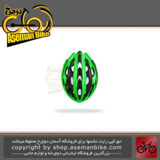 کلاه ایمنی دوچرخه کورسی جاده لیمار مدل 778 سایز لارج 57 تا 62 سانت سوپر سبک وزن رنگ مشکی سبز مات طراحی ایتالیا Limar Road Bicycle Helmet 778 L 57-62cm Matt Bright Red Italy