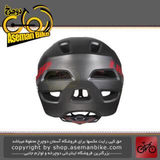 کلاه ایمنی دوچرخه کوهستان لیمار مدل 848 دی آر سایز لارج 58-62 سانت طراحی ایتالیا رنگ تیتانیوم مات LIMAR MTB Bicycle Safe Helmet 848DR L 58-62cm Matt Titanium