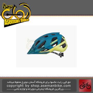 کلاه ایمنی دوچرخه کوهستان لیمار مدل 888 سایز لارج 59 تا 63 سانت رنگ سبز بنزینی مات طراحی مات Limar MTB Bicycle Helmet 888 Matt Petrol Green L 59-63cm Italy