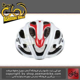 کلاه ایمنی دوچرخه کورسی جاده برند لیمار مدل اولترالایت پلاس سایز لارج 57 تا 61 سانت رنگ سفید آبی طراحی ایتالیا Limar Onroad Bicycle Helmet Ultralight+ L 57-61cm White Red Italy