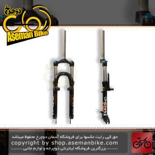 دوشاخ دوچرخه کوهستان برند اوکی اور سایز قفل کن دار 100 میلیمتر سایز 26 مدل 1000695 OK MTB Bicycle Fork Oversize Lockout 100mm Travel 1000695 Size 26