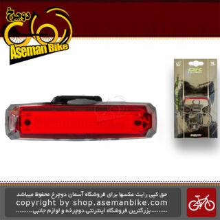 چراغ عقب دوچرخه اوکی با لامپ ال ای دی 10 لومن باطری لیتیومی سکه ای ضد آب مدل اکس سی-243 OK Bicycle Rear Light LED 10 Lumen Lithium-Ion Waterproof XC-243