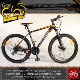 دوچرخه کوهستان فونیکس مدل زد کا 300 24 سرعته ست شیمانو ترمز دیسک مکانیکی سایز 26 2021 Phoenix MTB Bicycle ZK300 24 Speed Shimano Set Disc Mechanic 26 2021