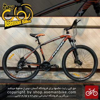 دوچرخه کوهستان فونیکس مدل زد کا 500 27 سرعته ست شیمانو ترمز هیدرولیک سایز 26 2021 Phoenix MTB Bicycle ZK500 27 Speed Shimano Set Hydraulic Disc 26 2021