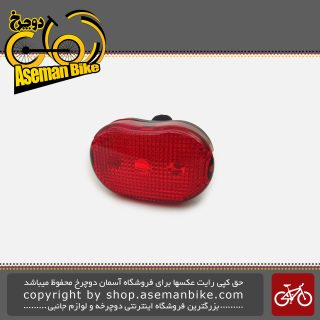 مجموعه ست چراغ جلو و عقب باتری دوچرخه اکس سی 988305 Bicycle Light set Head light And Tail light XC-988305