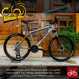 دوچرخه کوهستان مریدا مدل متس 6.20 ست شیمانو 24 سرعته سایز 26 رنگ نقره ای آکریلیک/نارنجی 2018 Merida MTB Bicycle MATTS 6.20 Shimano-set 24speed Size 26 Acrylic Silver/Orange 2018