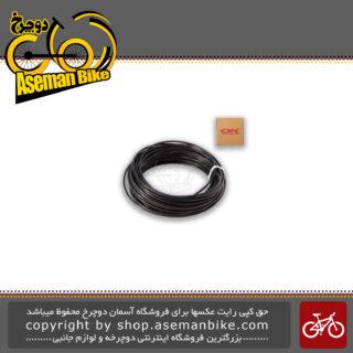 روکش سیم ترمز/دنده دوچرخه برند اوکی مشکی 30 متری مدل 100664 OK Bicycle Cable Cover 30m Black 1000664
