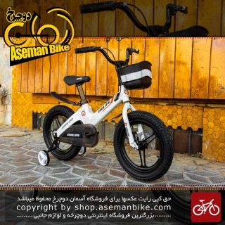 دوچرخه بچگانه برند فیلیپس سایز 16 رنگ سفید Kids Bicycle Philips Size 16 white
