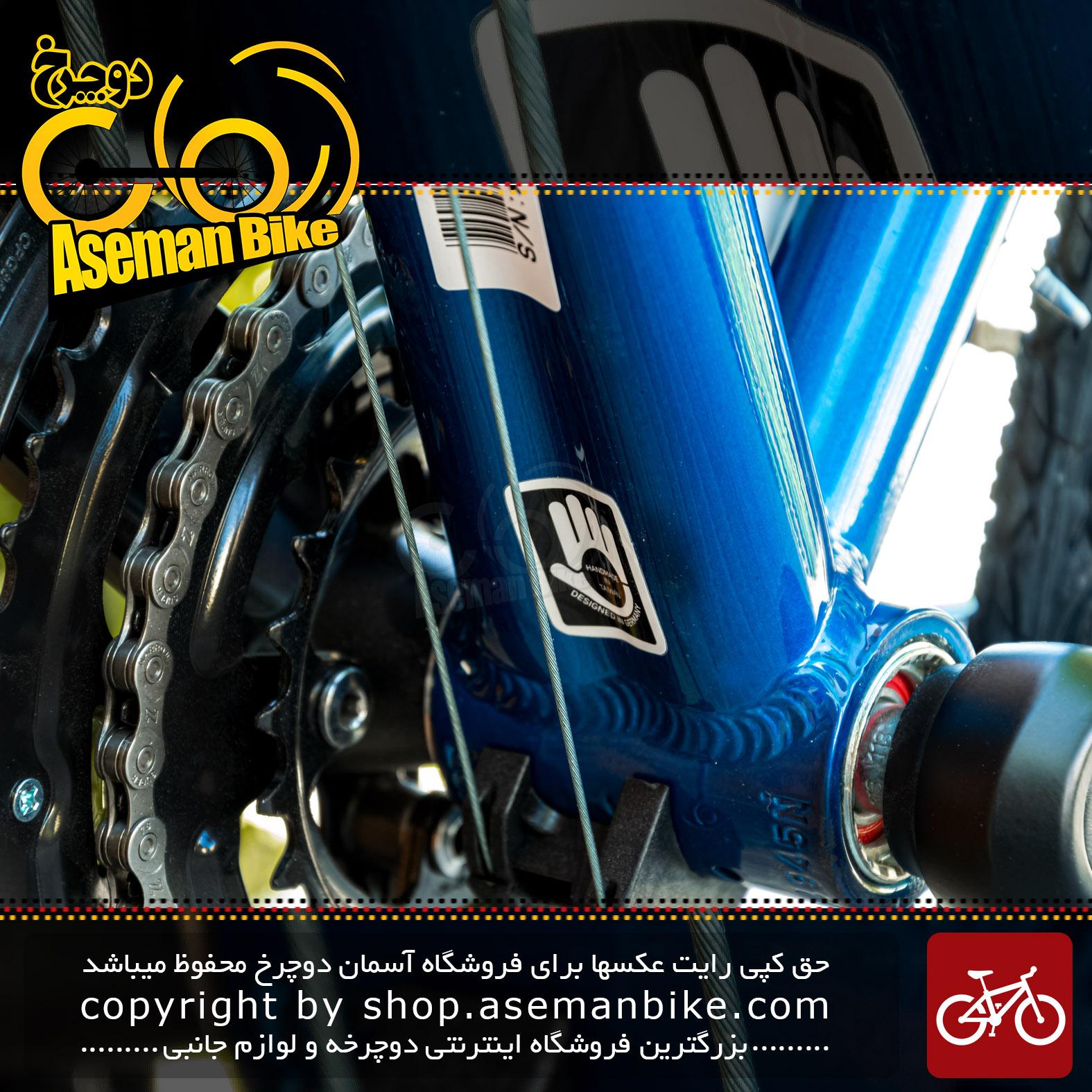دوچرخه شهری توریستی مریدا مدل کراس وی اربان 40 دستساز تایوان طراحی آلمان سایز 28 رنگ آبی اقیانوسی 27 سرعته 2021 Merida Urban Tourist Bicycle Crossway Urban 40 27 Speed Size 28 Handmade in Taiwan Design Germany Ocean Blue 27 Speed 2021