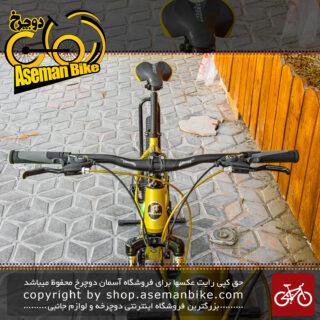 دوچرخه کوهستان برند کراس مدل اینفینیتی سایز 27.5 رنگ طلایی با سیستم دنده 21 سرعته MTB Bicycle Cross Infinity Size 27.5 Gold 21 Speed