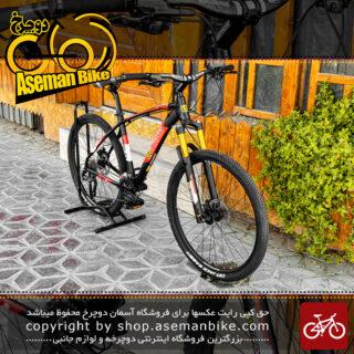 دوچرخه کوهستان دبلیو استاندارد مدل پرو تی وان سایز 27.5 رنگ مشکی/قرمز 27 سرعته 2021 W Standard MTB Bicycle Pro T1 27.5 Black/Red 27 Speed 2021