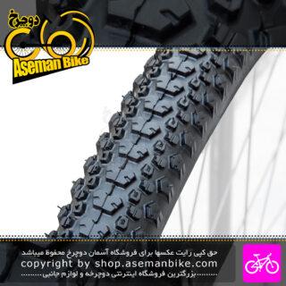 تایر لاستیک دوچرخه دلی مدل فستر سایز 27.5 در 1.90 Deli Tire 27.5 Tire Faster Bicycle 27.5x1.90