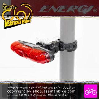چراغ خطر عقب دوچرخه برند انرژی مدل EBL-2212 قرمز Energi Bicycle Rear Light EBL-2212