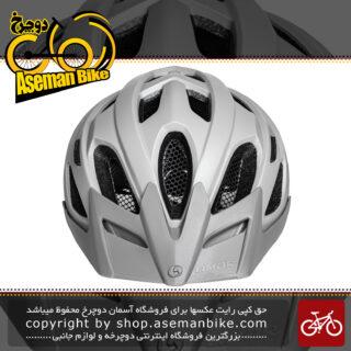 کلاه دوچرخه سواری لیمار مدلURBE خاکستری مات برند ایتالیایی سایز 58 تا 62 سانتی متر Limar Helmet Bicycle URBE 58-62 CM Gray Matte