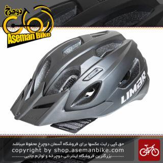 کلاه دوچرخه سواری لیمار مدلURBE مشکی مات برند ایتالیایی سایز 58 تا 62 سانتی متر Limar Helmet Bicycle URBE 58-62 CM Black