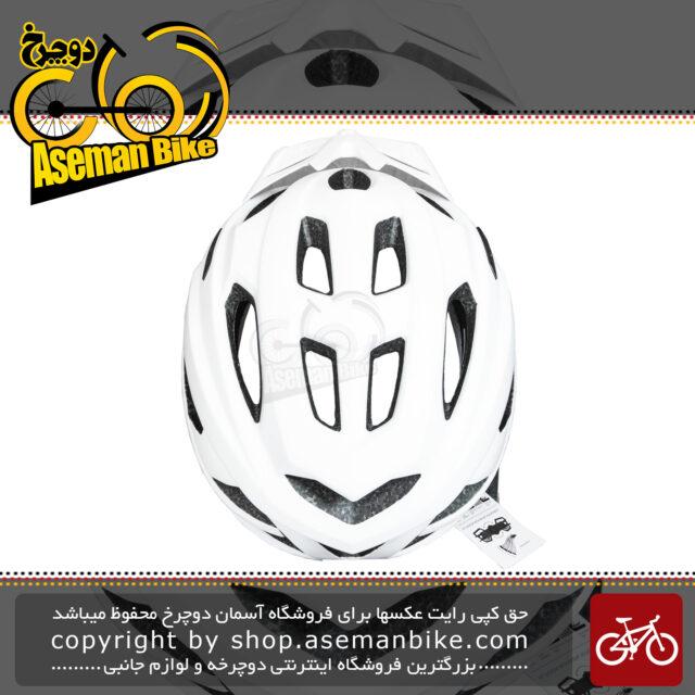 کلاه دوچرخه سواری لیمار مدل DELTA سفید مات برند ایتالیایی سایز 57 تا 61 سانتی متر Limar Helmet Bicycle Delta 57-61 CM WHITE Matte