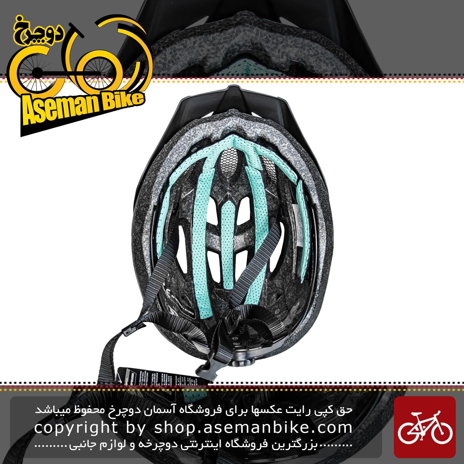 کلاه دوچرخه سواری لیمار مدل DELTA مشکی مات برند ایتالیایی سایز 52 تا 57 سانتی متر Limar Helmet Bicycle Delta 52-57 CM BLACK Matte