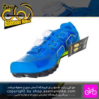 کفش دوچرخه سواری کوهستان جاینت مدل شارژ رنگ آبی سایز 45.5 Giant Bicycle Shoes Charge Size 45.5