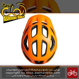 کلاه دوچرخه سواری لیمار مدل 808 DR نارنجی برند ایتالیایی سایز 54 تا 60 سانتی متر Limar Helmet Bicycle 808Dr 54-60 CM Orange