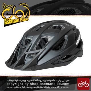 کلاه ایمنی دوچرخه برند لیمار سبک مدل 888 سایز 59 تا 63 سانت رنگ مشکی مات طراحی ایتالیا Limar Bicycle Helmet 888 59-63 Cm Matt Black Italy