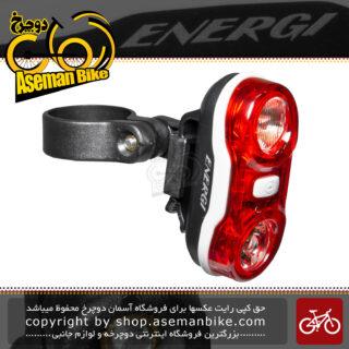 چراغ خطر ایمنی عقب دوچرخه برند انرژی مدل CG-405R قرمز Light Red Back Bicycle Brand ENERGI CG-405R
