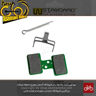 لنت ترمز دیسکی دوچرخه WSTANDARD جهت ترمز های شیمانو سری BS01 و تکترو