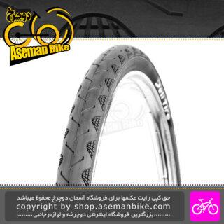 تایر لاستیک دوچرخه شهری توریستی دلی استاندارد ژاپن سایز 27.5 با پهنای 1.75 ساخت اندونزی Deli Tire 27.5 City trekking bicycle 2.5x1.75 S601 Made in Indonisa