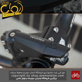 چراغ جلو دوچرخه کروشال مدل CG-125P2 شارژی 300 لومن CRUCIAL Bicycle Head Light Rechargeable 300 Lumen CG-125P2