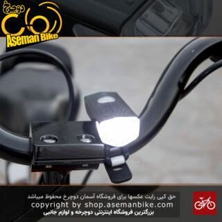 چراغ جلو دوچرخه شارژی XC 2255 نور سفید 300 لومن Bicycle Head Light XC 2255 -300 Lumen