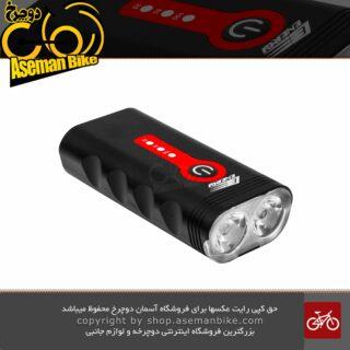 چراغ جلو دوچرخه انرژی مدل EBL-3603 شارژی 900 لومن 2 لنز USB RECHARGEABLE BIKE LIGHT ENERGI 900 Lumen EBL-048A