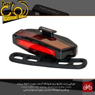 چراغ عقب دوچرخه برند کرشوال مدل سی جی 420ار1 RECHARGEABLE SUPER BRIGHT REAR LIGHT CG-420R1