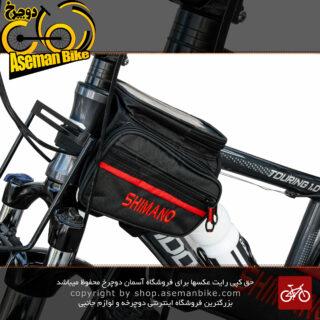 کیف روی تنه دوچرخه برند شیمانو مدل پولو SHIMANO Bicycle Saddle Bag Polo