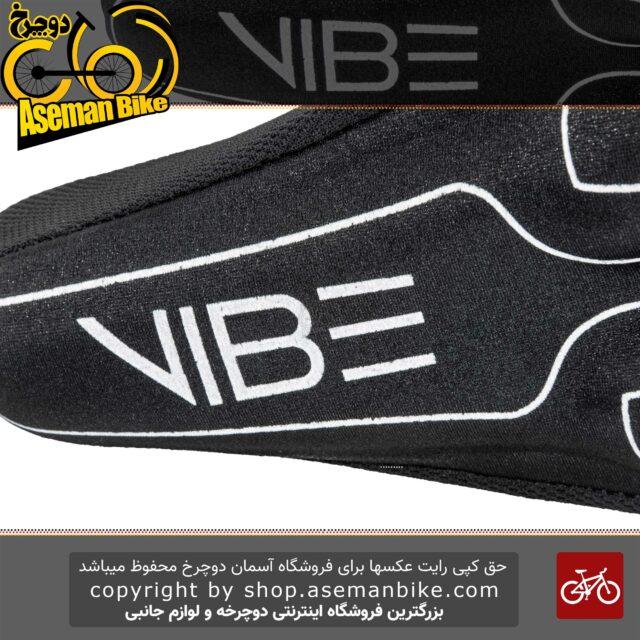 روکش زین ژله ای دوچرخه وایب 680I12 مشکی Cover Saddle VIBE Bicycle Gel 680I12