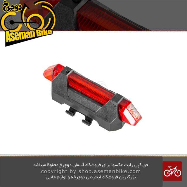 چراغ عقب دوچرخه شارژی مدل RAPID-X طرح جدید Rear Light Red RAPID-X New Rechargeable