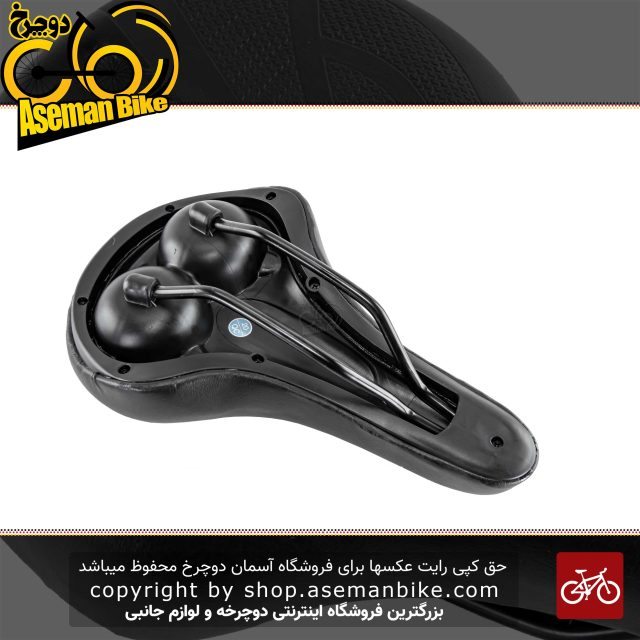 زین دوچرخه وایب فوم AZ 6813 مشکی VIBE Saddle Bicycle AZ 6813